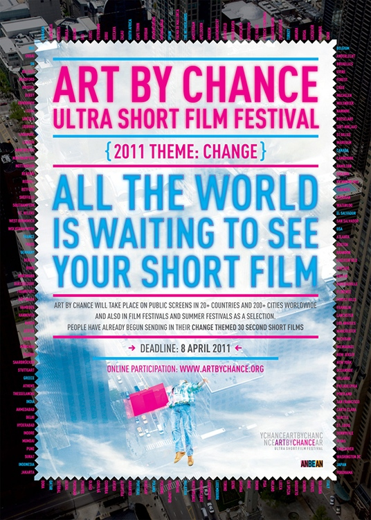 Art By Chance '11 Participation Poster
