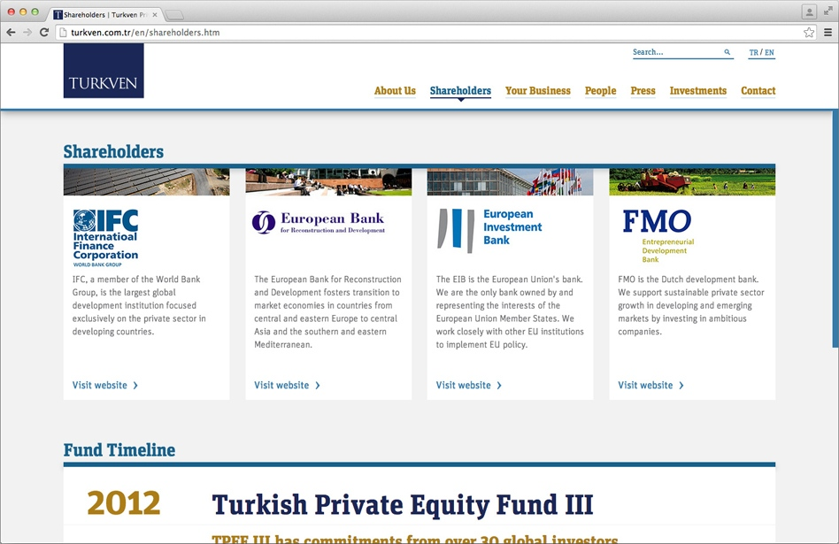 Turkven Web Site