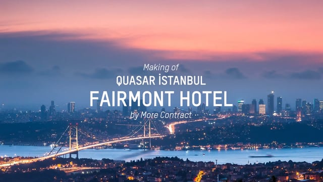 More Contract Making of Quasar Fairmont