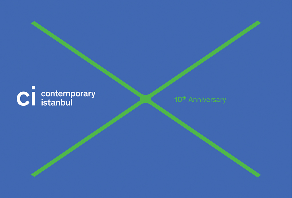 Contemporary İstanbul 10th Anniversary Postcards
