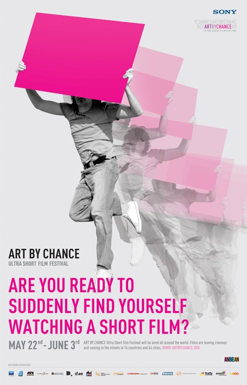 Art By Chance '09 Screening Posters