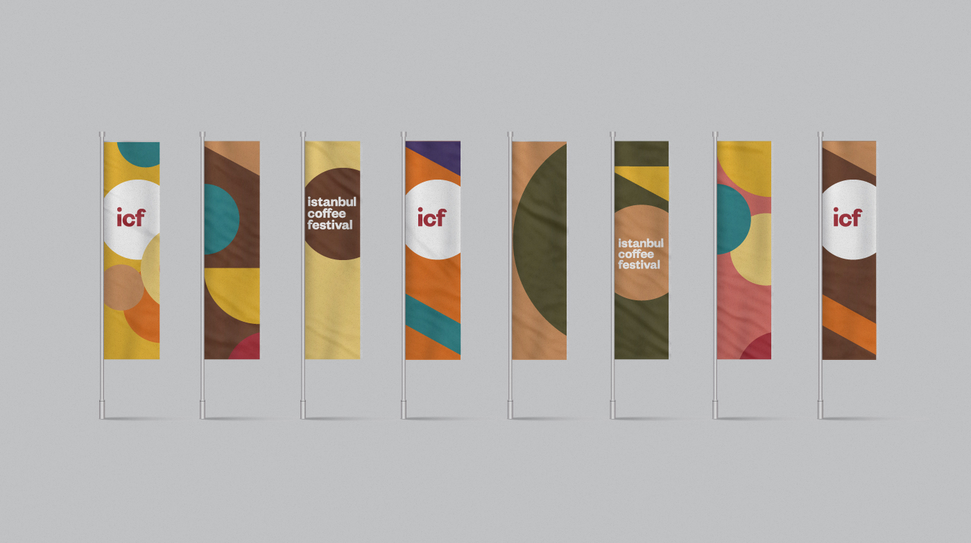 İstanbul Coffee Festival Branding