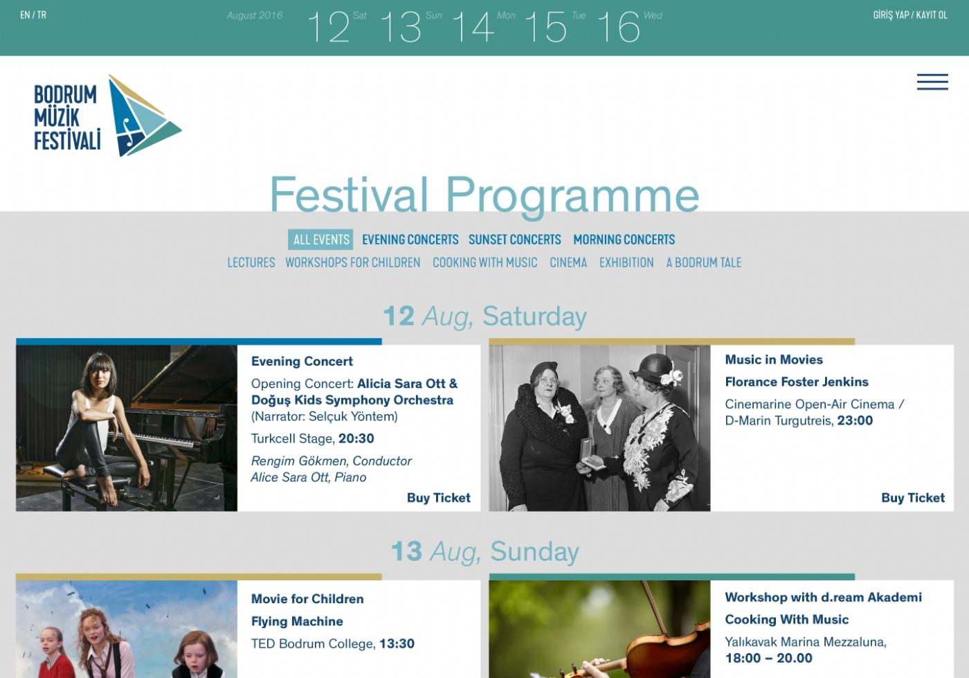 Bodrum Music Festival - MONROE | CREATIVE STUDIO