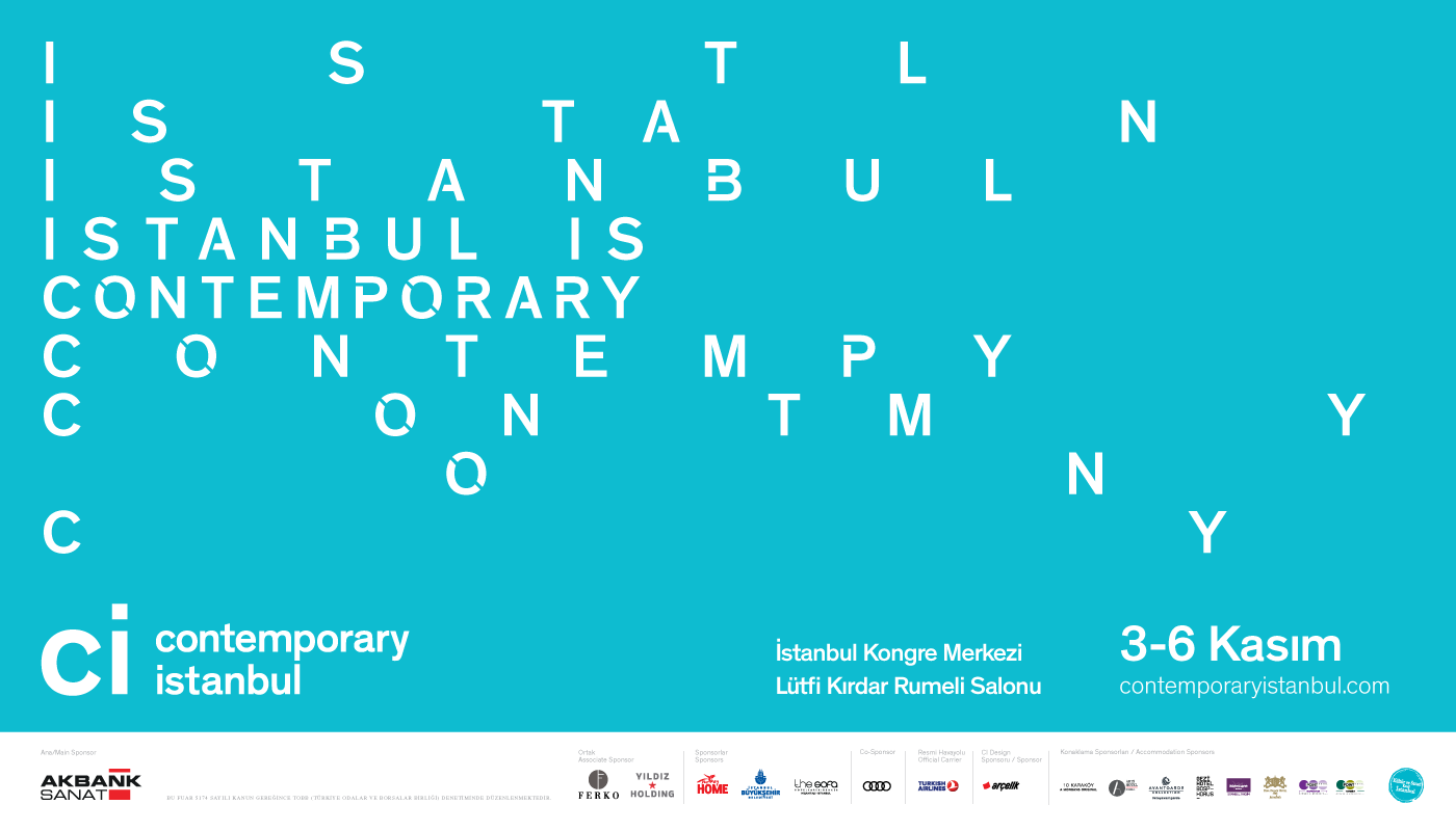 Contemporary Istanbul 2016 Keyvisuals