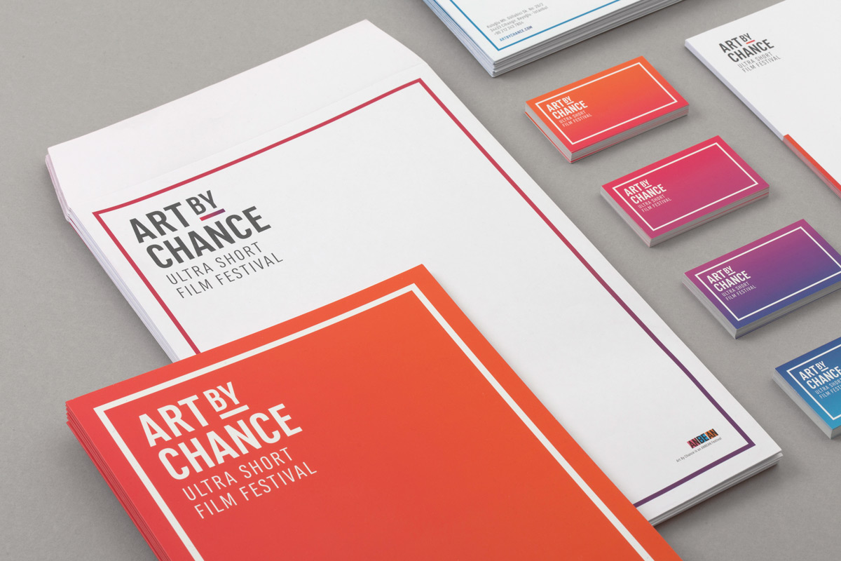 Art By Chance Ultra Short Film Festival Brand ID