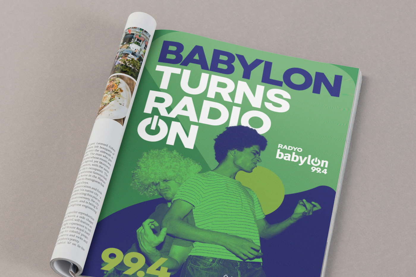 Radyo Babylon Key Visuals