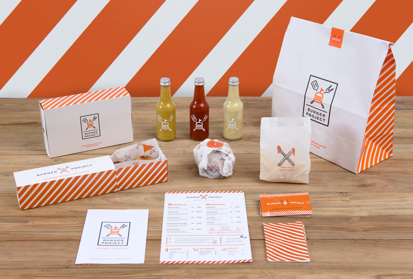 Burger Project Packaging