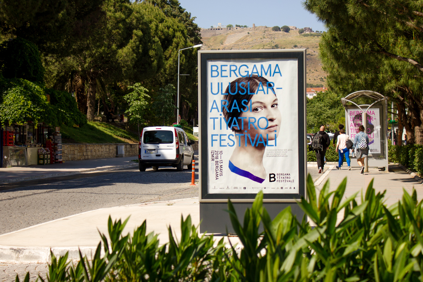 Bergama Theatre Festival Key Visuals