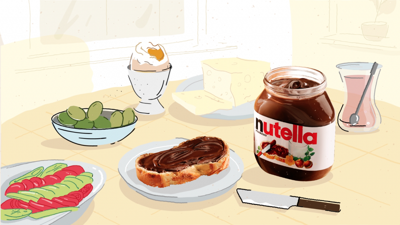 Nutella New Year Campaign Teaser Video